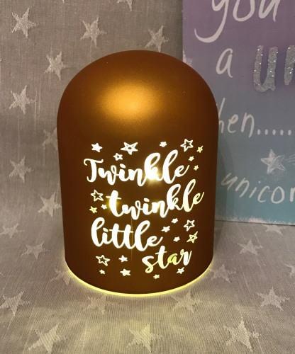 Twinkle Twinkle LED Glass Dome