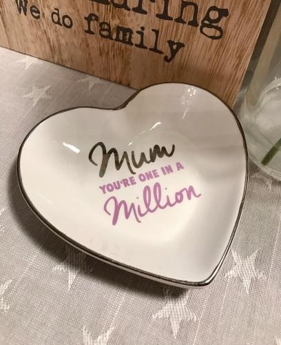 Mum In A Million Trinket Dish