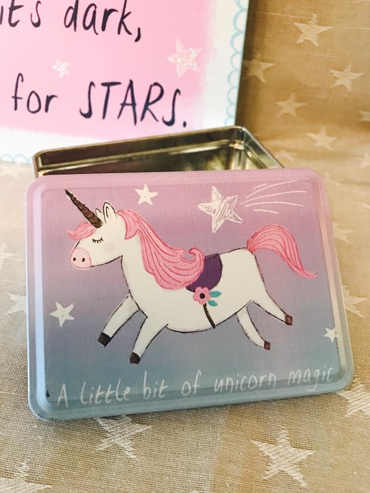 Unicorn Magic Trinket Tin