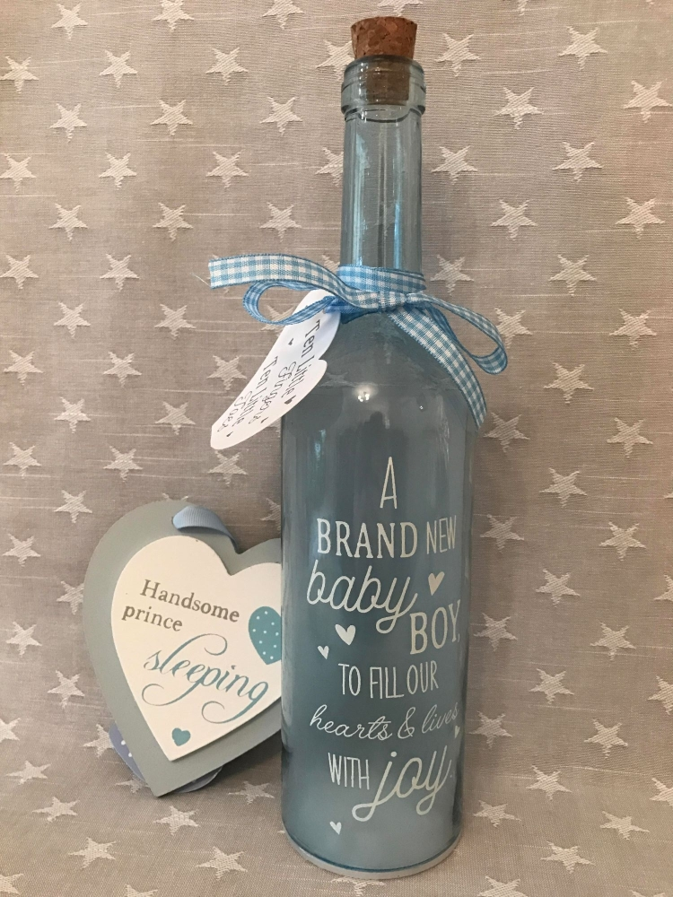 Baby Boy LED Bottle