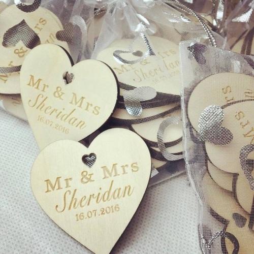 Wedding Confetti Keepsakes (pack of 10)
