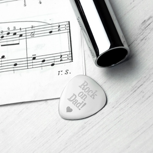 Dad's Very Own Personalised Plectrum