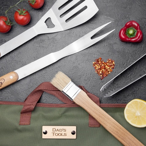 Dad's Personalised BBQ Tools