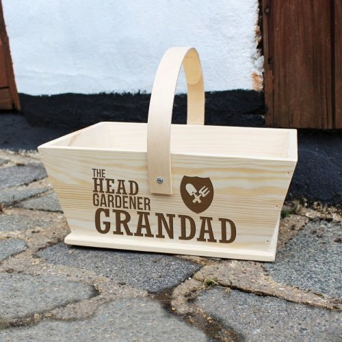 Head Gardner Personalised Trug