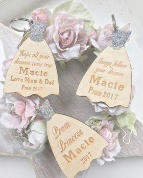 Prom Dress Keyring/Magnet