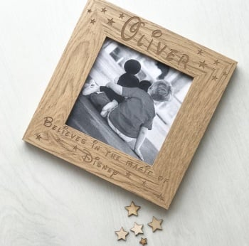 Magic Of Disney Personalised Frame