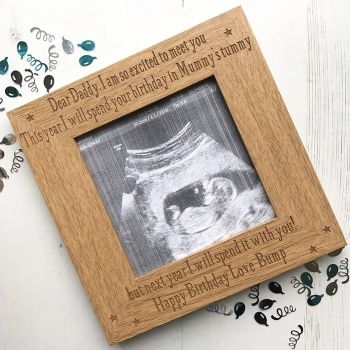 Birthday Personalised Scan Frame