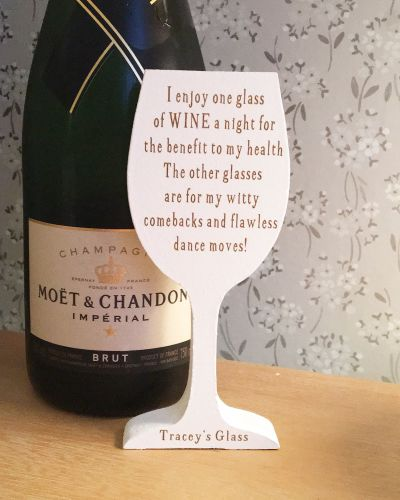 One Wine A Night Personalised Keepsake