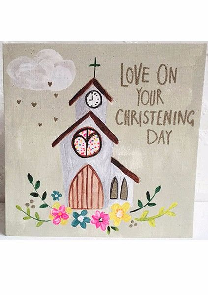Christening Day Card