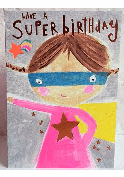 Super Birthday Card