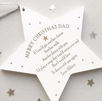 Dance With My Father Christmas Star