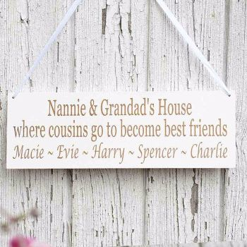 Grandparents House Sign