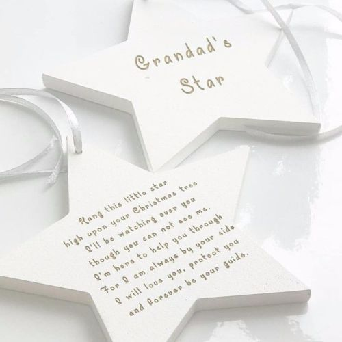 Guiding Star Double Sided Decoration
