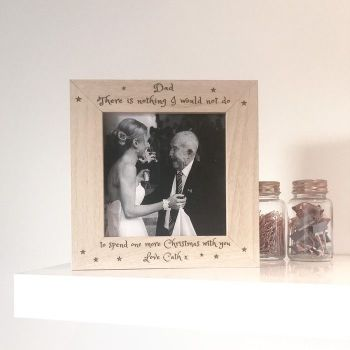 I'll Miss You At Christmas Photo Frame