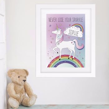 Magical Unicorn Print