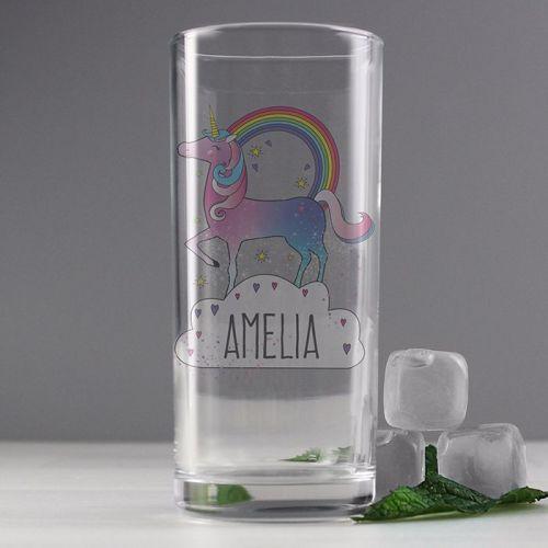 Unicorn Hi-Ball Glass