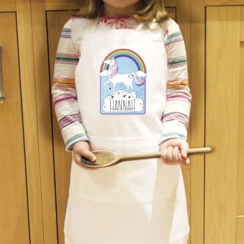 Personalised Unicorn Apron