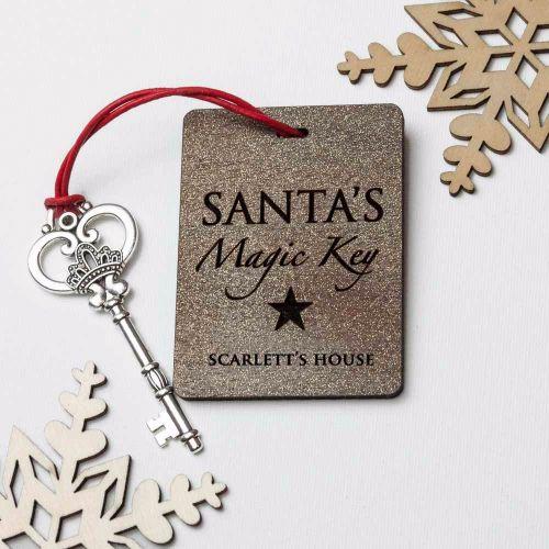 Santa's Personalised Magic Key