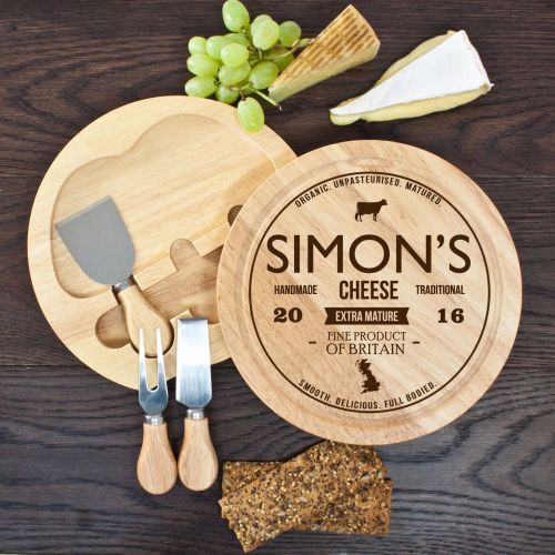 Traditional Brand Personalised Cheese Board