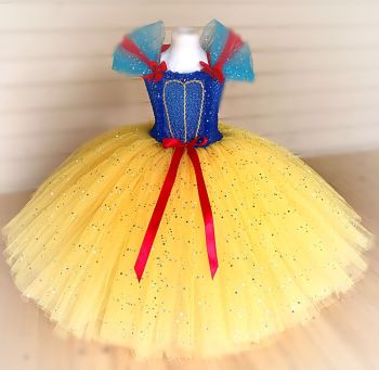 Snow White Inspired Tutu Dress