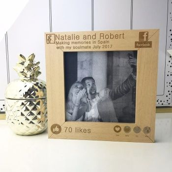 Memories Facebook Personalised Frame