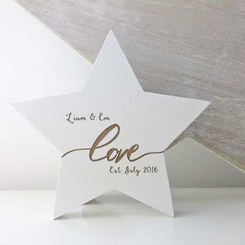 Love Established Freestanding Star