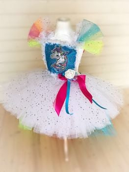 Unicorn Style Tutu Dress