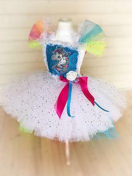 Unicorn Style Tutu Dress
