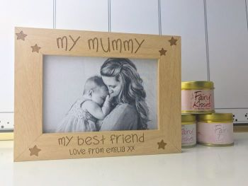 Mummy My Best Friend Frame