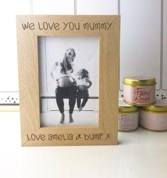 Mummy We Love You Photograph Frame