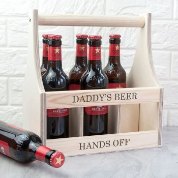 Personalised Beer Trug