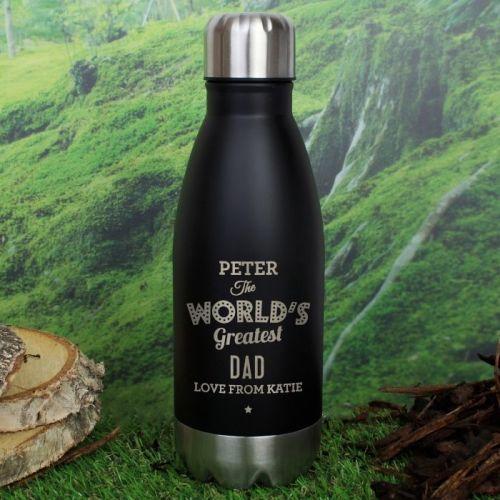 Worlds Greatest Personalised Travel Bottle