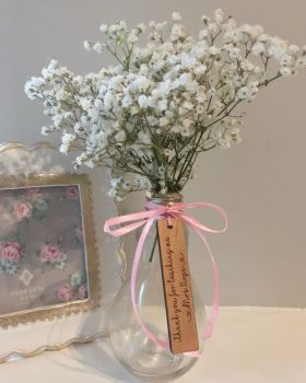 Personalised Lightbulb Teacher Vase