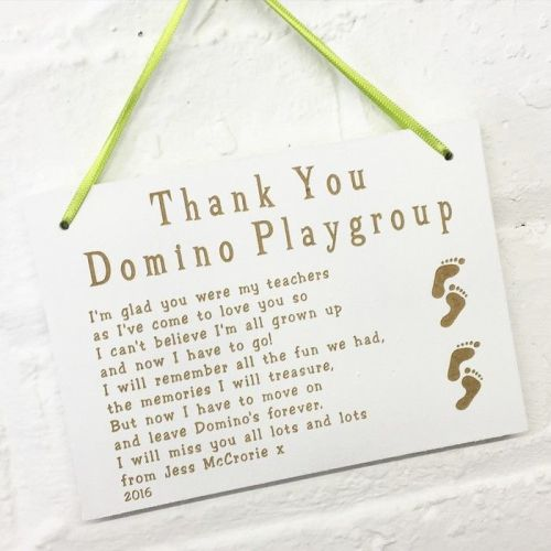 Thank You Teacher Hanging Sign