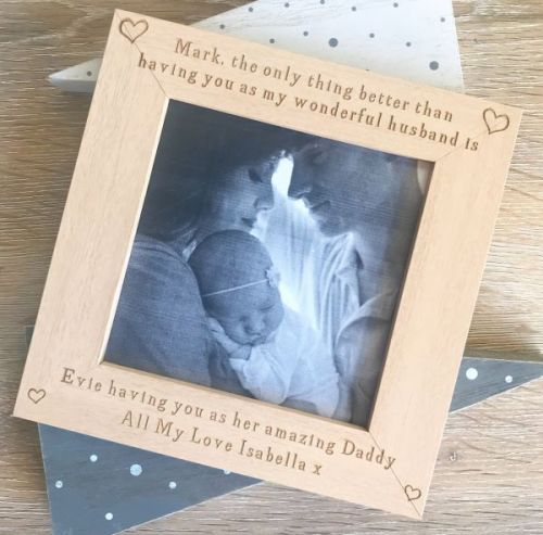 Only Thing Better Husband and Daddy Photo Frame