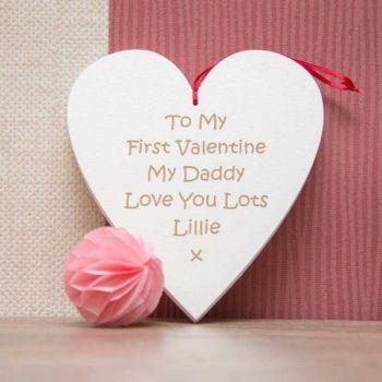 Daddy My First Valentine