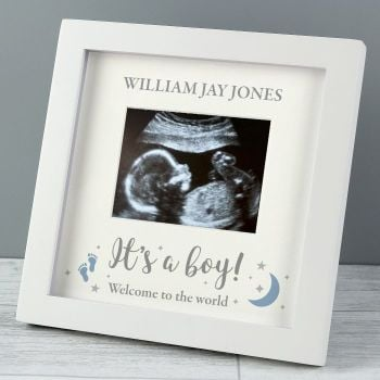 It's A Boy Scan Photograph Frame