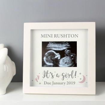 It's A Girl Scan Photograph Frames