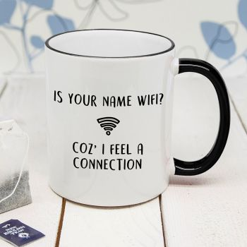 Is Your Name Wi-Fi Personalised Mug