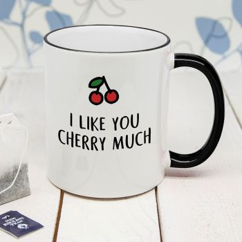 Cherry Much Personalised Mug