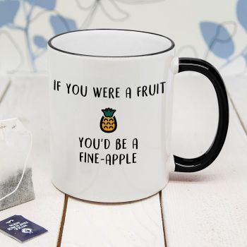 Fine Apple Personalised Mug