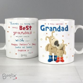 Best Grandad Personalised Boofle Mug