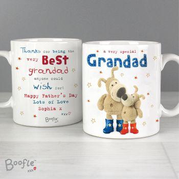 Best Grandad Personalised Boofle Mug
