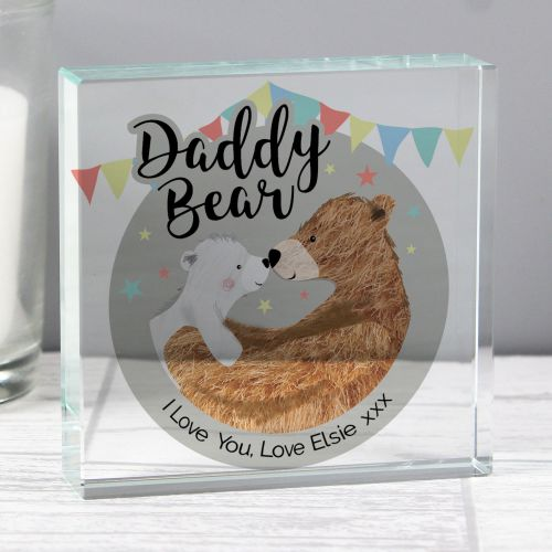 Daddy Bear Crystal Token