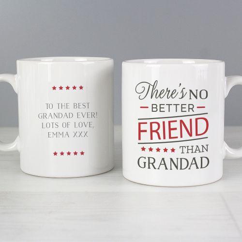 No Better Friend Grandad Mug