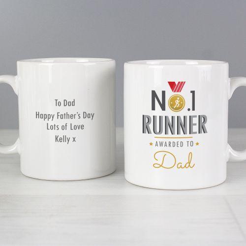 Number 1 Runner Personalised Mug