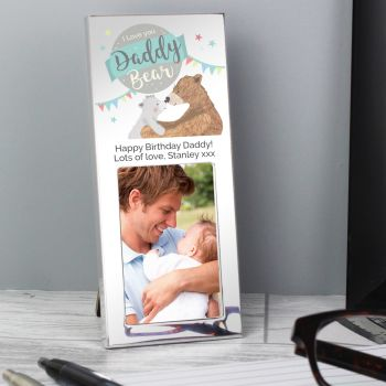 Daddy Bear Personalised Frame