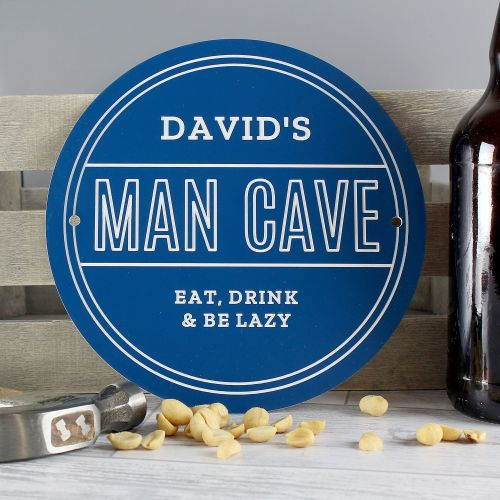 Man Cave Personalised Plaque