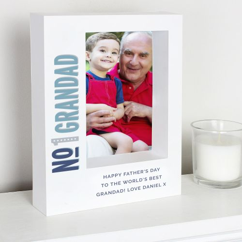 Grandad Personalised Box Frame