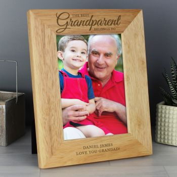 Best Grandparent 5x7 Personalised Photo Frame